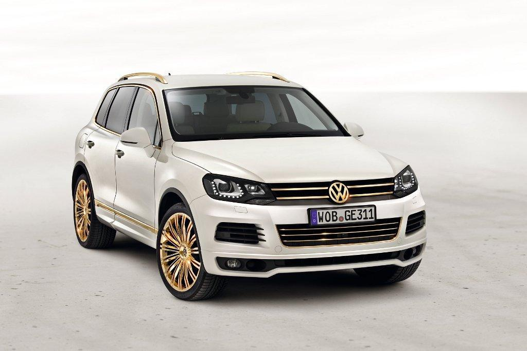 VW Touareg Gold Edition