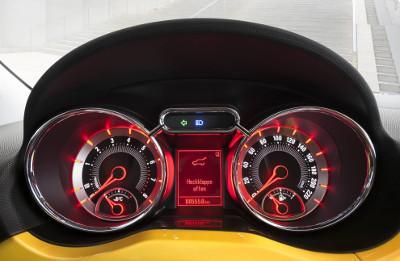 Cockpit des Opel Adam Rocks