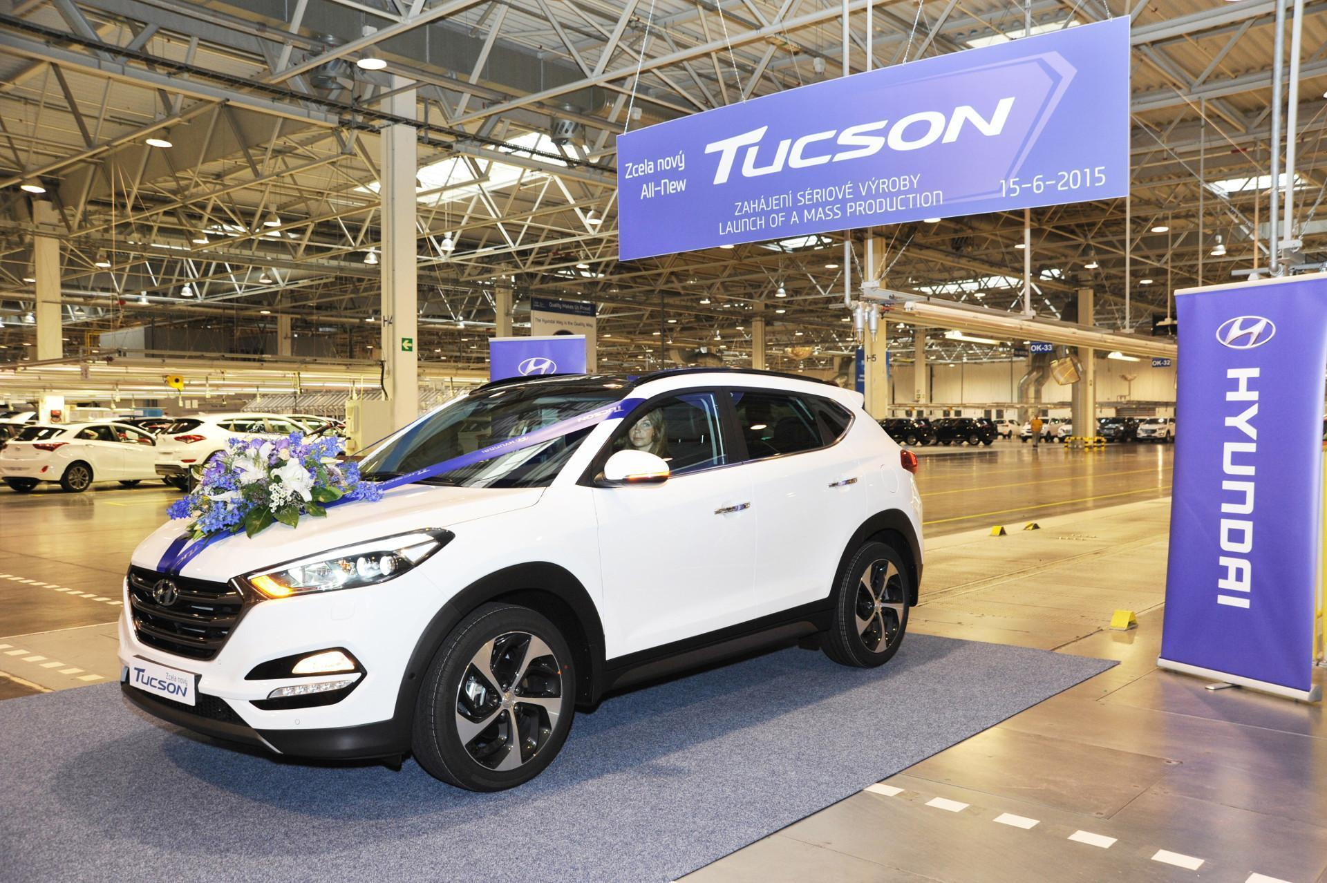 Hyundai Tucson Production