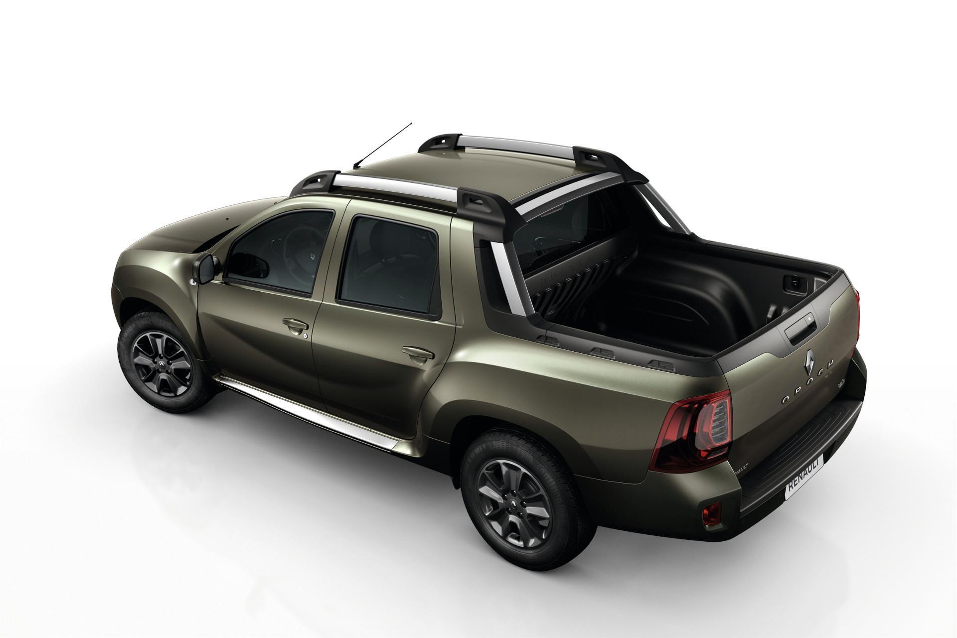 weltpremiere f r pick up renault duster oroch. Black Bedroom Furniture Sets. Home Design Ideas
