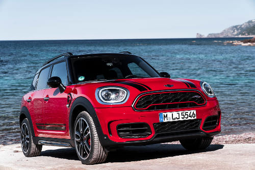 Mini Countryman John Cooper Works Frontperspektive