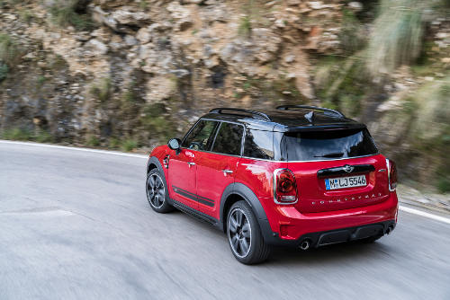 Mini Countryman John Cooper Works Heckansicht