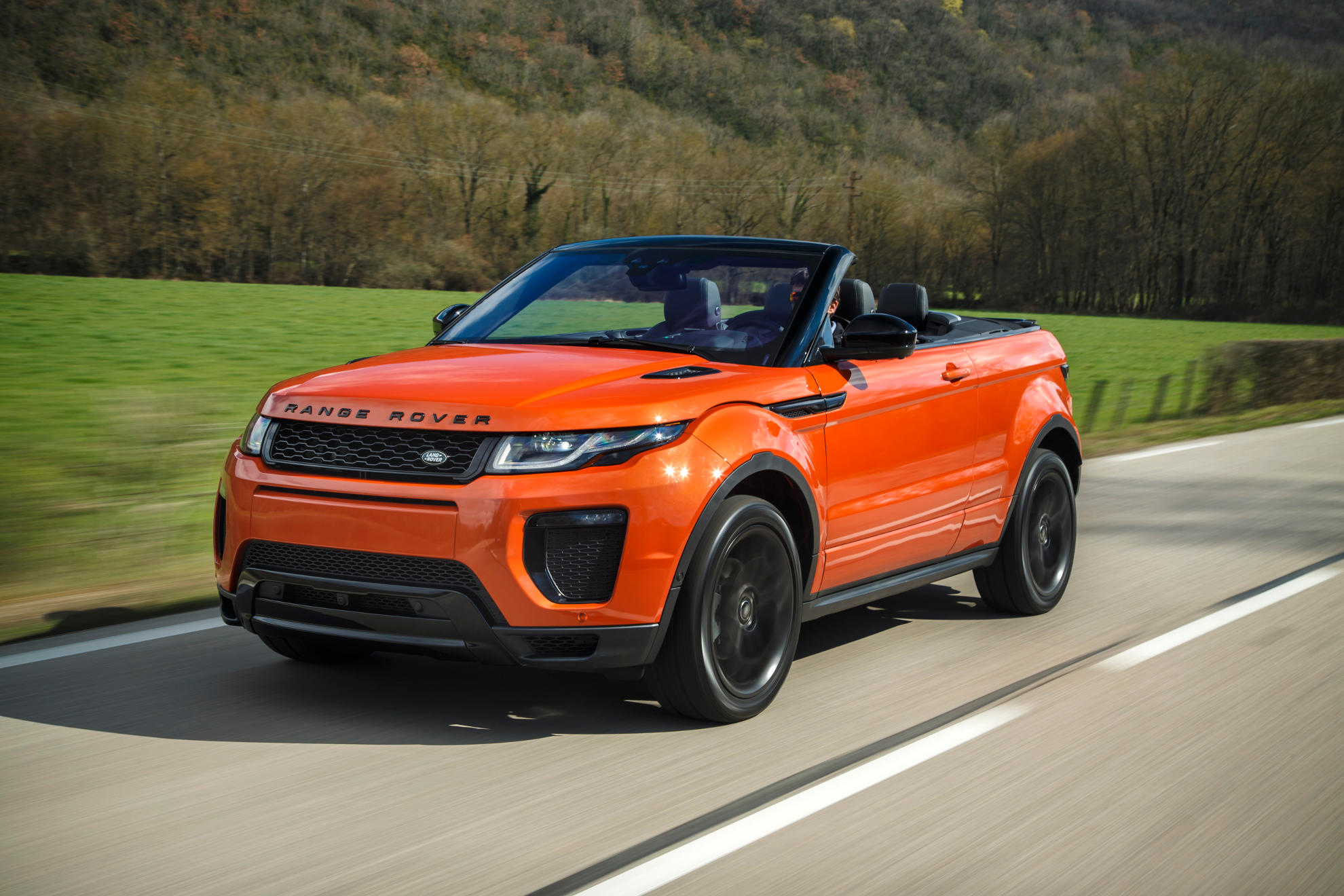 neuer trend range rover evoque cabrio. Black Bedroom Furniture Sets. Home Design Ideas