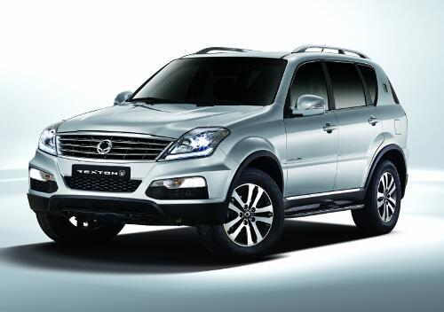 ssangyong rexton neues suv vom dritten koreaner. Black Bedroom Furniture Sets. Home Design Ideas