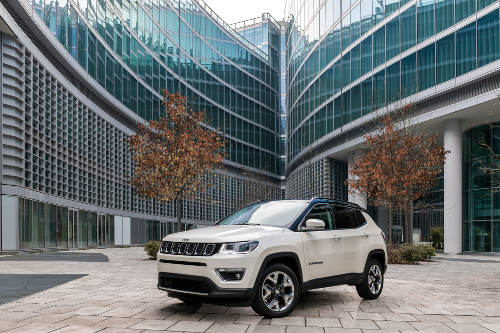Jeep Compass 2017 Frontperspektive