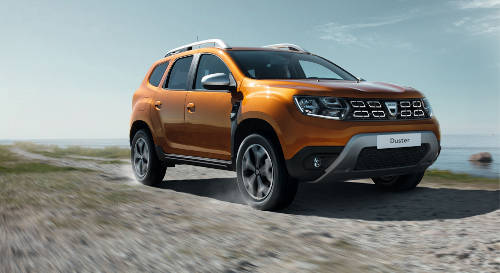 Dacia Duster 2017 Frontperspektive
