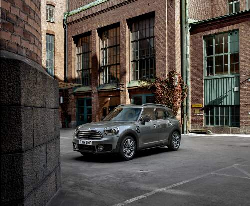 Mini Countryman Frontperspektive