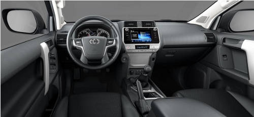 Toyota Land Cruiser Cockpit