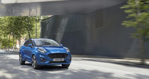 Ford Puma Frontperspektive