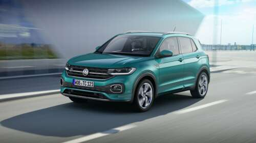 Neuer VW T-Cross Frontperspektive