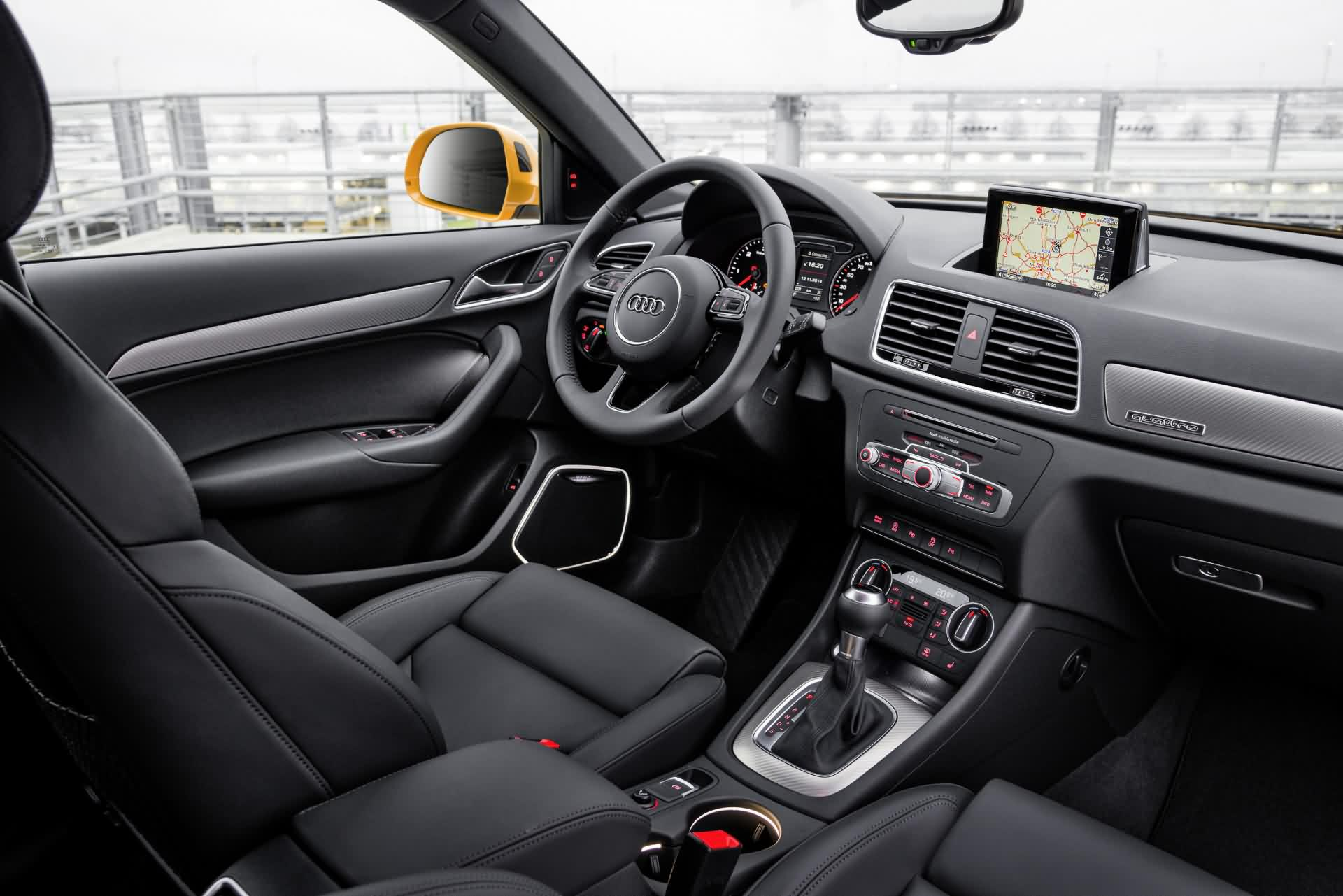 Audi q3 infos daten bilder for Interieur q3