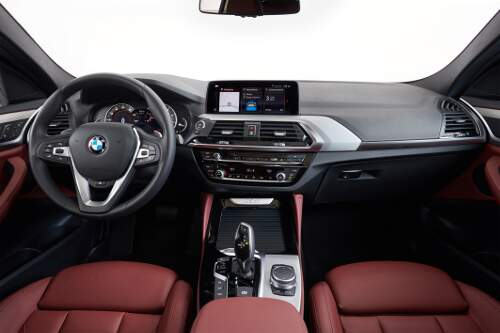 BMW X4 2018 Interieur Cockpit