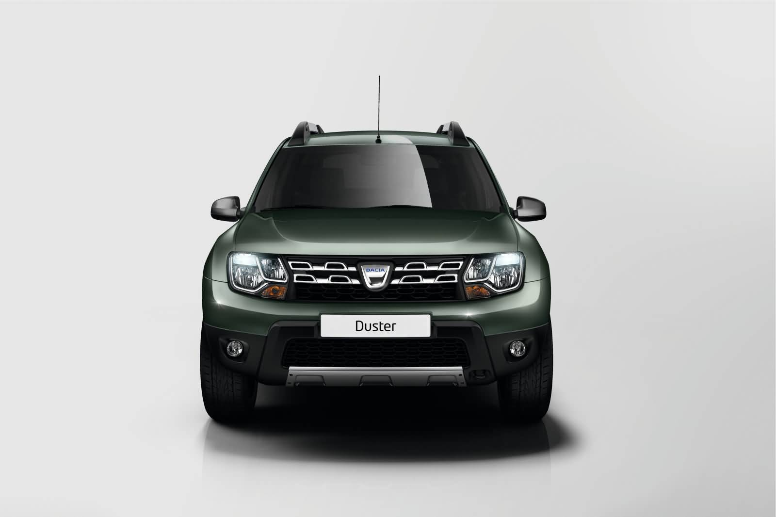 Frontansicht des Dacia Duster 2014