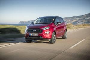 Ford EcoSport ab MJ 2017 Frontperspektive