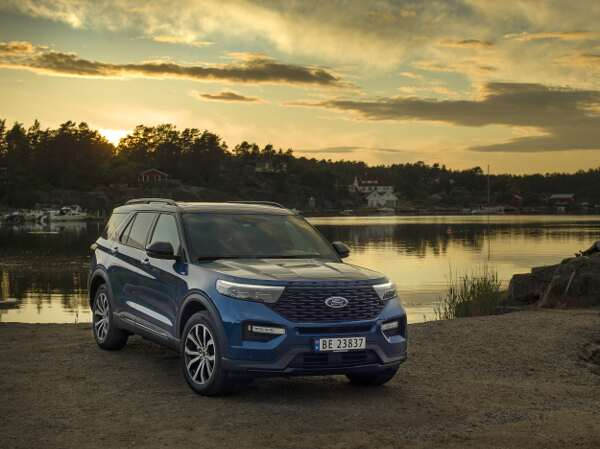 Ford Explorer Frontperspektive