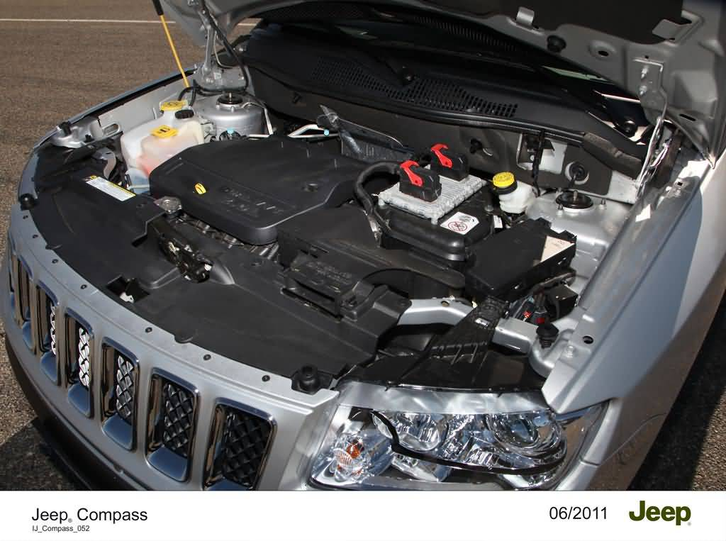 Motor des Jeep Compass