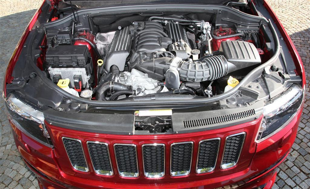 Motor des Jeep Grand Cherokee