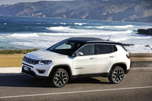 Jeep Compass Limited Seitenperspektive