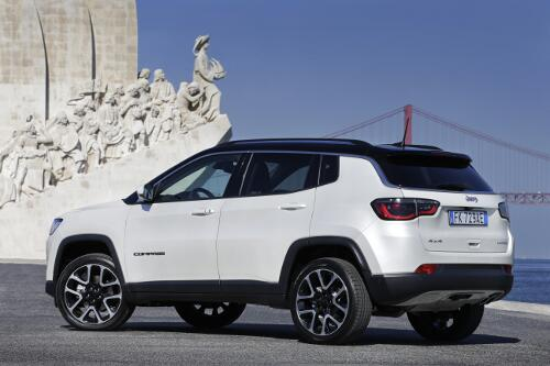 Jeep Compass Limited Heckperspektive
