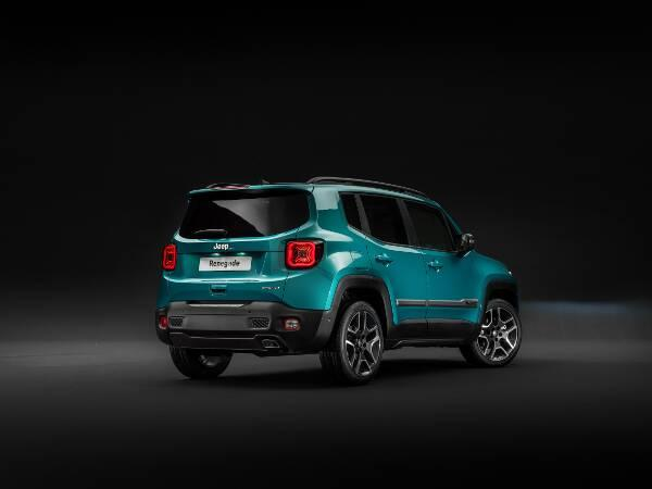 Jeep Renegade Limited Heckperspektive