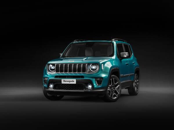 Jeep Renegade Limited Frontperspektive