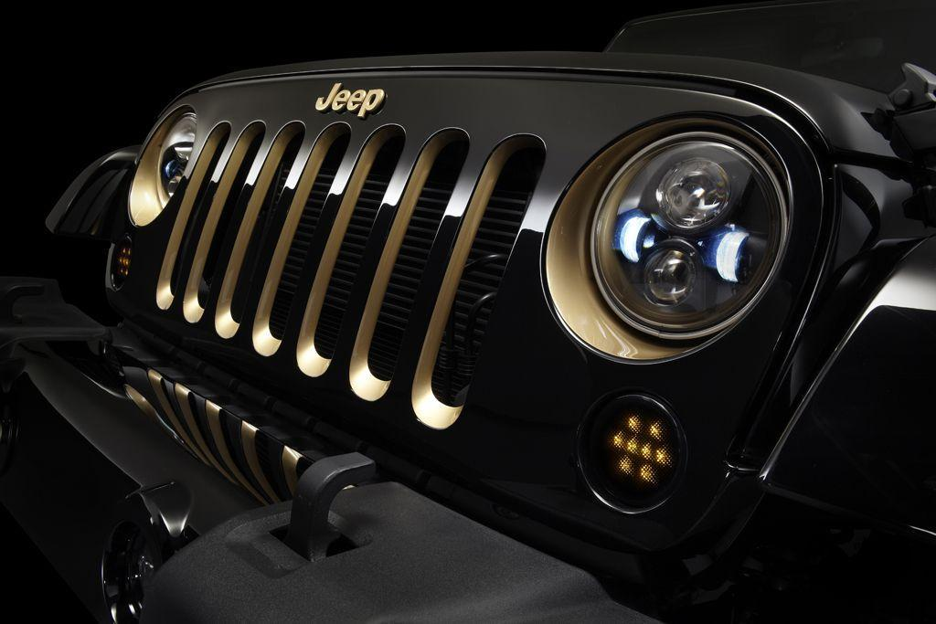 Frontgill des Jeep Wrangler
