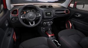 Cockpit des Jeep Renegade