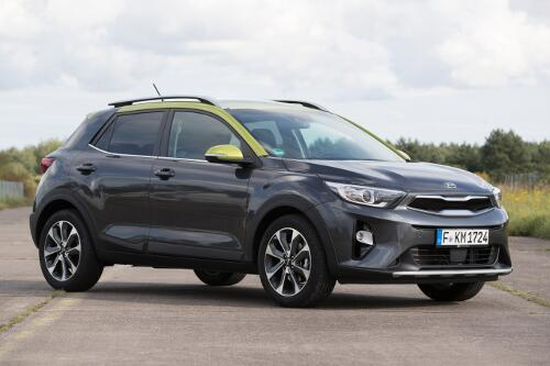 Kia Stonic SUV Modell 2017 Exterieur Frontperspektive