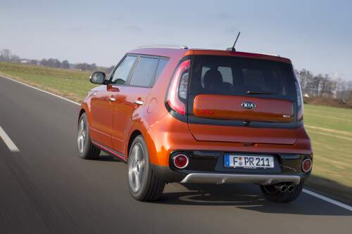 KIA Soul Turbo MJ 2017
