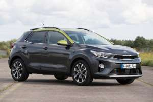 Kia-Stonic-SUV-Modell-2017-Exterieur-Frontperspektive