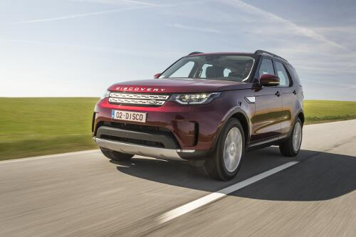 Land Rover Discovery 2017 Frontperspektive