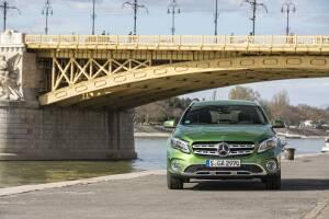 Mercedes-Benz GLA Modell ab 2017 Frontansicht