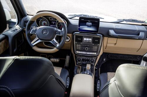 Mercedes Maybach G 650 Landaulet Interieur Cockpit