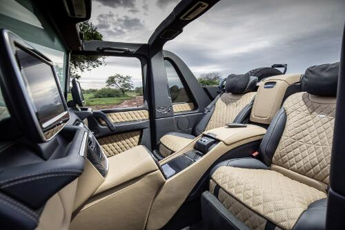 Mercedes Maybach G 650 Landaulet Interieur Fond