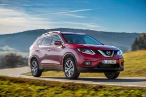 Nissan-X-Trail-Front-Perspektive