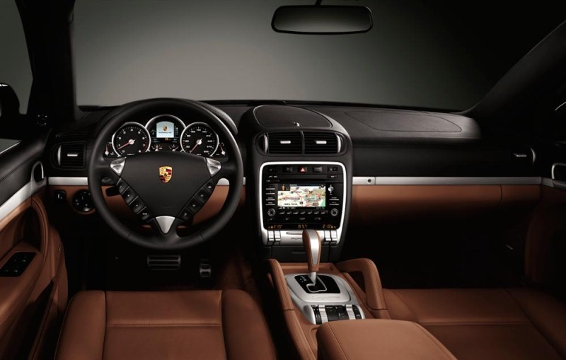 Cayenne Turbo S Interieur