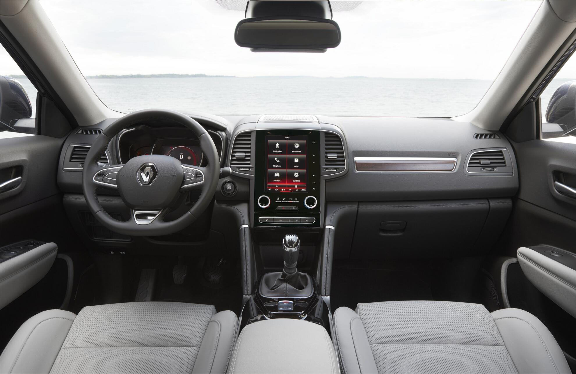 Modellbeschreibung ber den renault koleos 2 generation for Kadjar interieur 7 places
