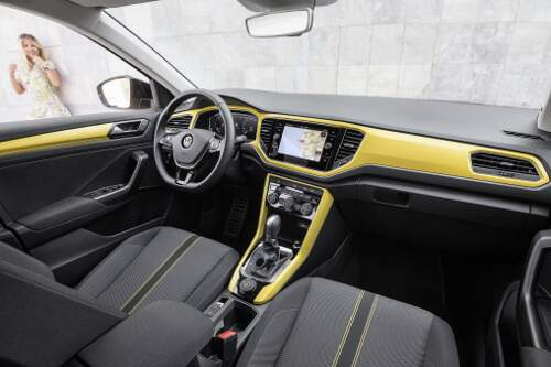VW SUV T-Roc 2017 Interieur