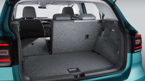 VW T-Cross Interieur Kofferaum
