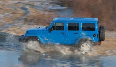 Jeep Wrangler Unlimited Modell 2014