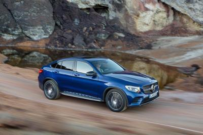 Mercedes GLE Coupe SUV Modell 2015