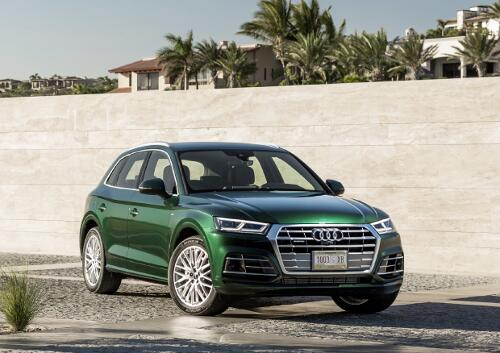 Audi Q5 Modell 2017 Frontansicht