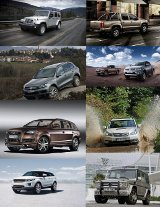 Alle SUVs, Offroader & Co.