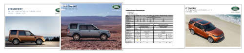 Land Rover Discovery - Preise, Datenblaetter & Kataloge